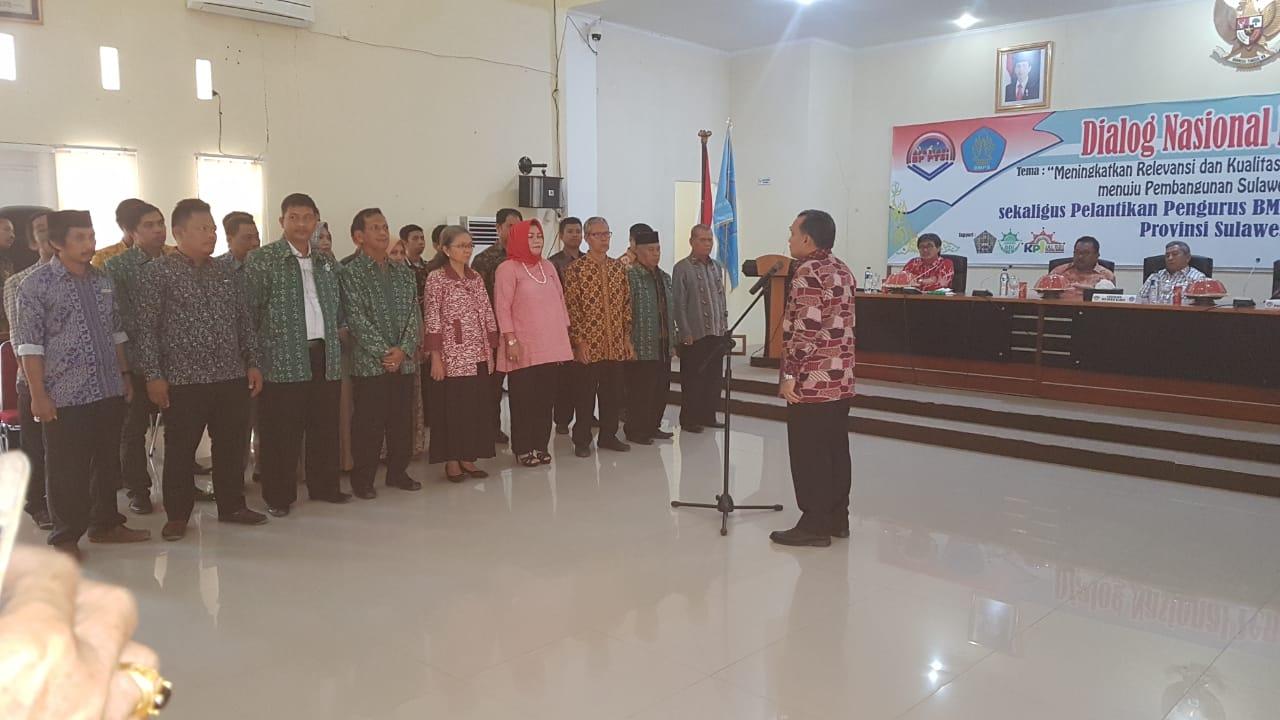 Buka Dialog Pendidikan, Gubernur minta PT Hasilkan Sarjana Berkualitas