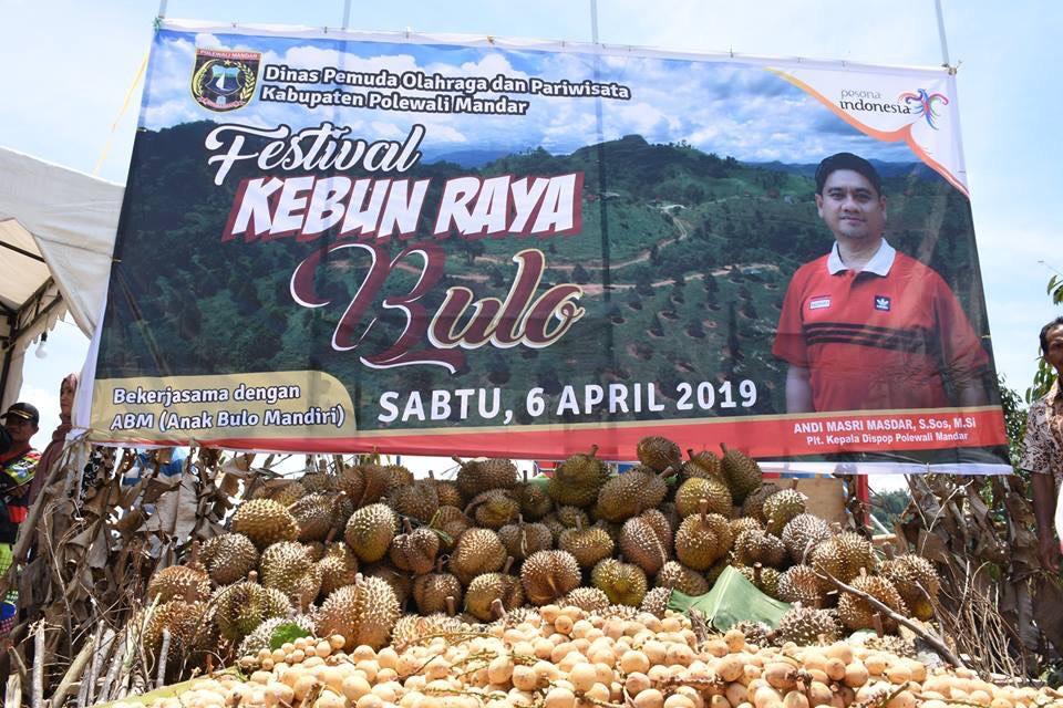Harap Dongkrak Perekonomian Warga, Pemkab Polman Gelar Pesta Durian