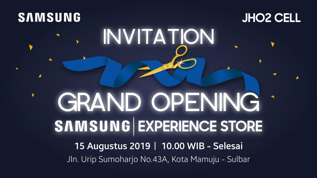 Wowww….ada Samsung Experience Store di Sulbar