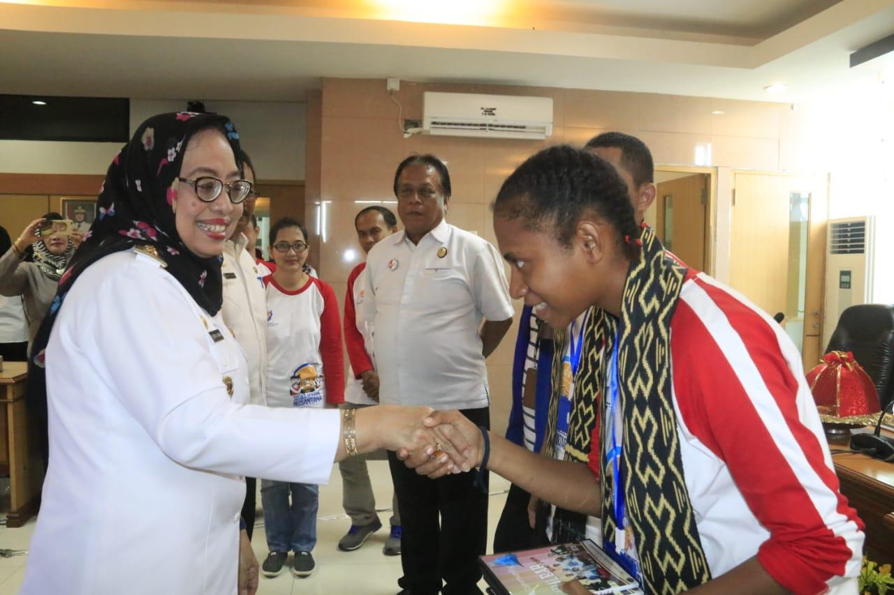20 Pelajar Asal Papua Barat Ikuti Program Mengenal Nusantara di Sulbar