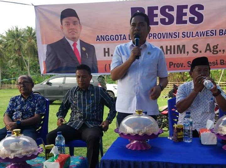 Reses di Polman, Rahim Janji Perjuangkan Aspirasi Masyarakat