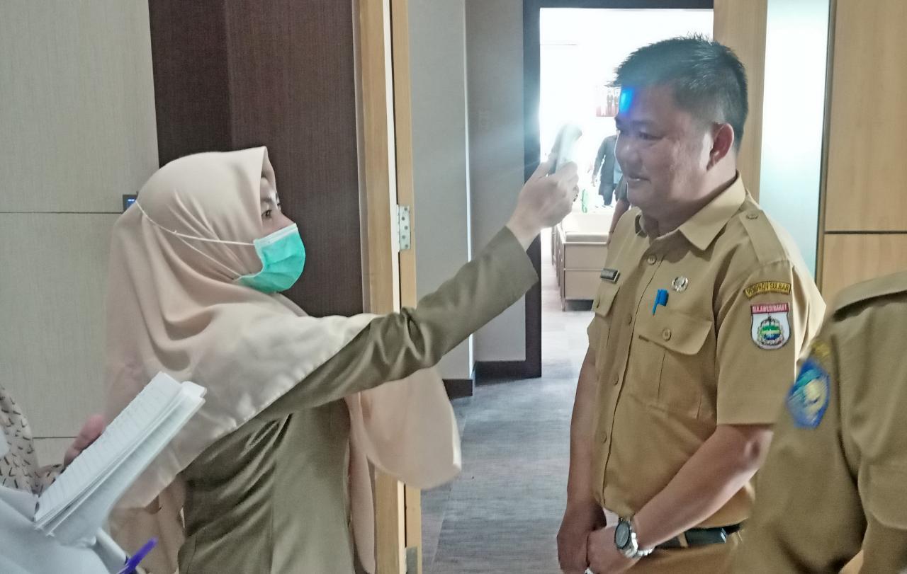 Gubernur Sulbar Instruksikan Bupati Bersinergi Lawan Covid-19