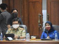 DPRD Sulbar Gelar Rapat Gabungan Pansus Pengawasan Covid-19