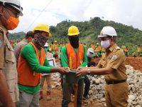 Gubernur Sulbar Resmikan Pembangunan Bendungan Kalukku