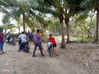 Meresahkan, Polisi Bubarkan Balap Liar di Pantai Babatoa Lapeo