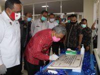 Gubernur Sulbar Resmikan Rumah Sakit Layanan Untuk PMI