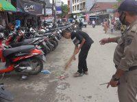 Melanggar Protokol Kesehatan, 30 Warga Wonomulyo Jalani Sanksi Sosial di Pasar