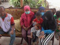 Tangis Haru Warnai Pertemuan 4 Anak Terlantar Dengan Keluarganya di Wonomulyo