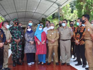 Gubernur Sulbar Sambut Dirjen PKPPT Kementrian PDTT