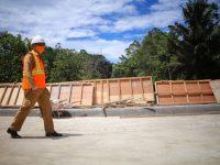 Pembangunan Ruas Jalan Lampa-Matangnga Digenjot