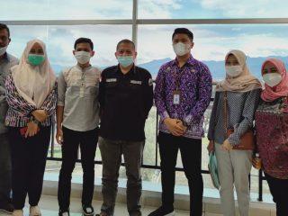 Kunker Sekretariat DPRD Sulteng ke DPRD Sulbar