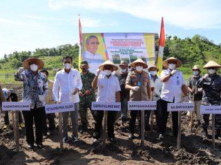 Gubernur Sulbar Canangkan Penanaman Kedelai di Tinambung-Polman