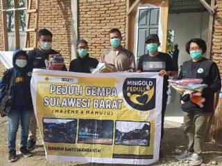 Gandeng SJS-Luluareta Majene, Mini Gold Indonesia Salurkan Bantuan Untuk Korban Gempa