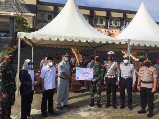 Ketua DPRD Sulbar Hadiri Apel Gelar Pasukan Operasi Ketupat 2021