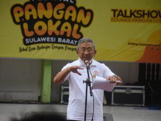Gubernur Sulbar Serukan Pemanfaatan Sumber Pangan Lokal