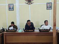 Rapat Konsultasi Badan Anggaran Komisi IV DPRD Sulbar