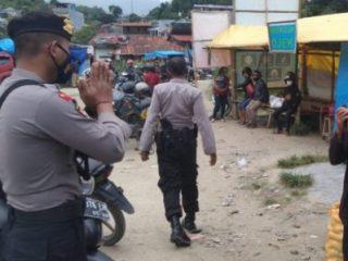 Operasi Yustisi di Mamasa Bagi Pengendara tidak Pakai Masker