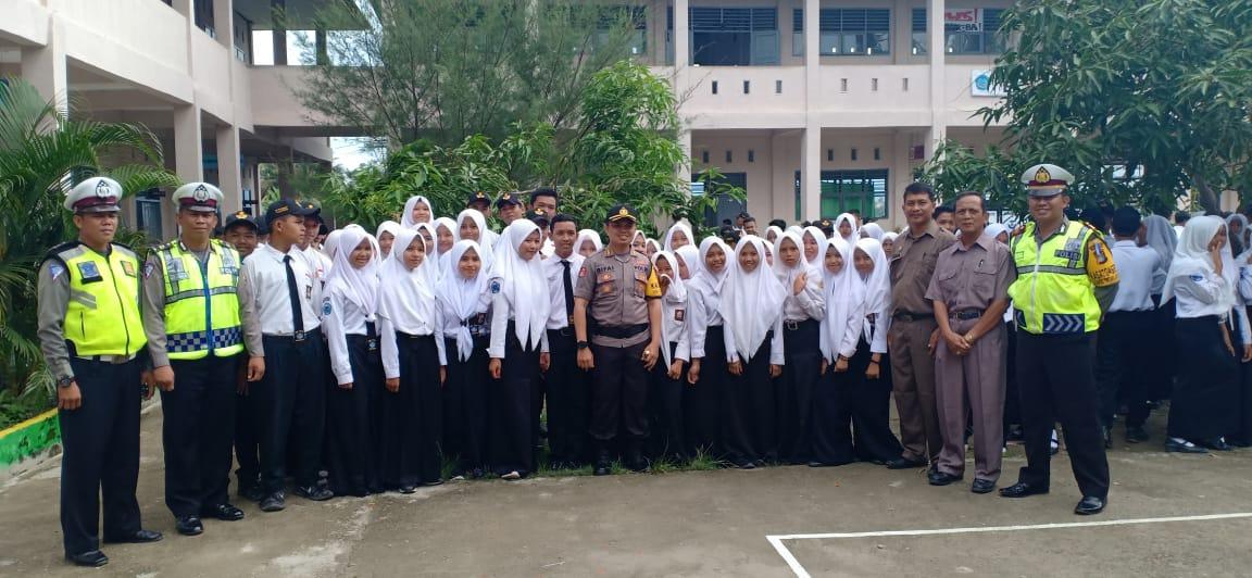 30 Anggota  PKS SMK YPPP dilantik Kapolres