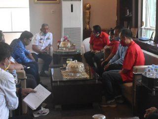 Temui Gubernur, Ketua DPD API Sulbar Tawarkan Kerjasama