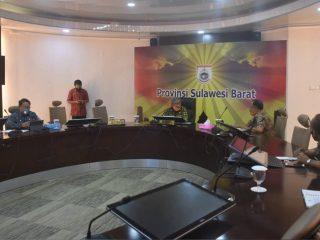 Jelang Pilkada 2020, Gubernur Sulbar Ingatkan Penyelenggara Patuhi Protokol Kesehatan