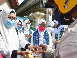 BKMT Sulbar Launching Program Jumat Berkah