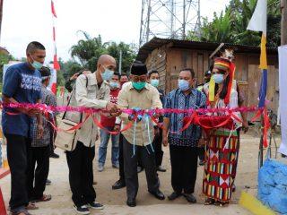 Gubernur Sulbar Resmikan Program Kotaku di Mamasa