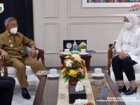 Pertemuan Gubernur Sulbar -Menteri Ketenagakerjaan RI