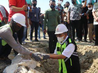 Ali Baal Minta Pembangunan Gedung Perkantoran Pemprov Sulbar Perhatikan Kualitas