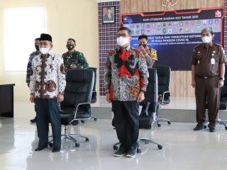 Gubernur Sulbar Hadiri Hari Otonomi Daerah secara Virtual