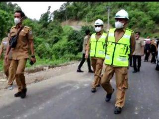 Gubernur ABM Target Jalan Lampa - Matangga Rampung Tahun ini