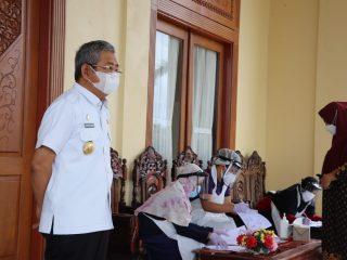 Gubernur Sulbar Tes Antigen, Alhamdulillah Negatif